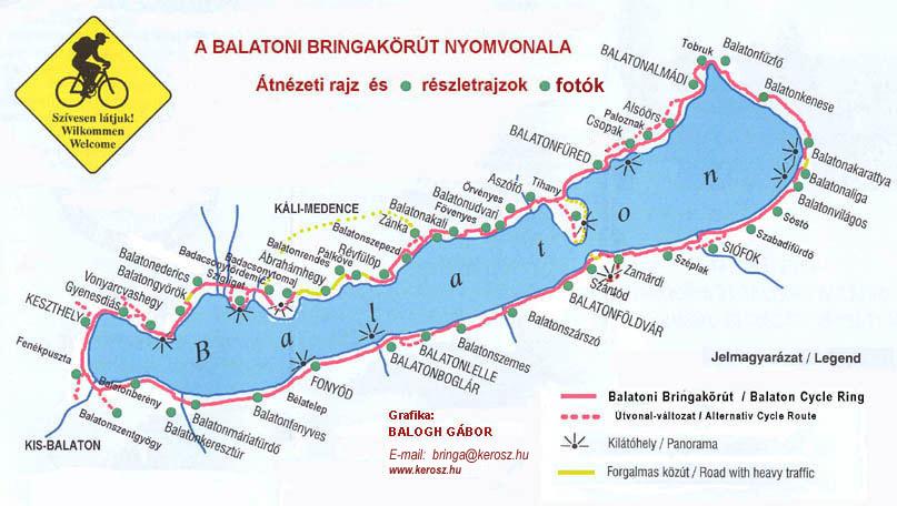 balaton körüli kerékpárút térkép Bringatúra a Balaton körül 2018.04.28   05.01. balaton körüli kerékpárút térkép